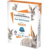 Hammermill Printer Paper, Fore Multipurpose 24 lb Copy Paper, 8.5 x 11 - 1 Ream (500 Sheets) - 96 Bright, Made in the USA