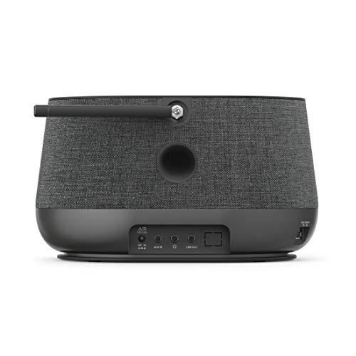 Hama Internetradio mit Digitalradio-Empfang, 2-Wege-Lautsprecher & Handy-Ladefunktion (Smart Radio mit WLAN/DAB/DAB+/FM, Bluetooth/Spotify Streaming, Stationstasten, Radio-Wecker, App) Internet Radio