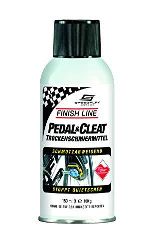Finish Line Pedali & Tacchette Lubrificante, Multicolore, 150 ml