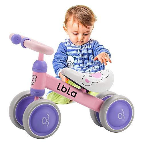 LBLA Baby Balance Bike, Ride on Scooter, Bicicletta per Bambini Equitazione Giocattolo Equilibrio Baby Walker Bike per Baby Kid Toddler attività allaperto al Coperto 6-36 Mesi