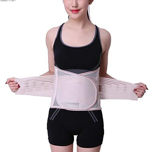 WCX Adaptación Faja Lumbar Cintura de Soporte Cinturón de Protección 5 Tiras Corrector...
