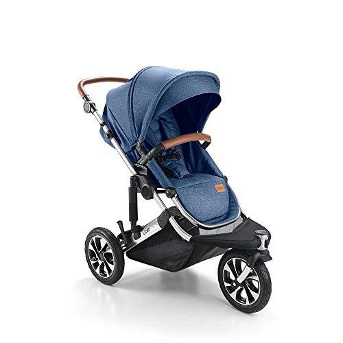 Carrinho de Bebê Jet 3 Rodas Azul Litet - BB681