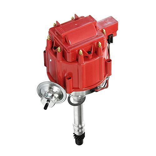 HEI Ignition Distributor with Cap for Chevy GM Small Blocks 283 305 307 327 350 400 Big Blocks 396 427 454 Part # DD-SBC-HEI-V8, 850001R, 8362