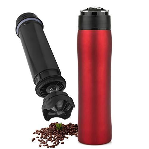 Camping Coffee Makers, 12 Oz Portable French Press Coffee Maker Travel Mug...