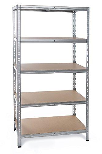Regal 180x70x60 - Garagenregal Baumarktregal Schwerlastregal Haushaltsregal Küchenregal