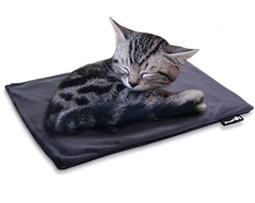 ペキュート[Pecute] ペット用 ホットカーペット 厚手 猫 犬 小動物用 ヒーターマット ペットカーペット Sサ...