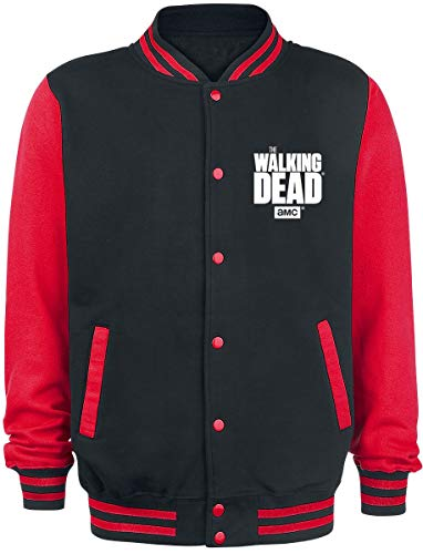 The Walking Dead Daryl Dixon - Fight The Dead - Wings Collegejacke schwarz/rot S