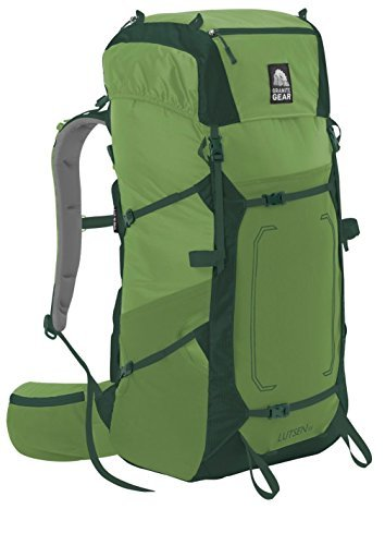 Granite Gear Lutsen 55 Backpack - Women's Moss/Boreal/Chromium Large/X-Large by Granite Gear