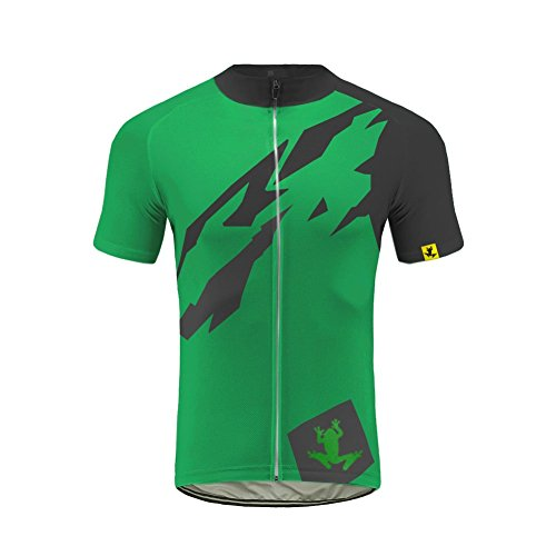 Future Sports Uglyfrog Bike Wear Designs - Ropa Ciclismo, Transpirable De Manga Corta Ciclismo Bicicleta Jersey con 3D Almohadilla De Gel para Pro Bicicleta Culotte Equipo Ropa Bodies