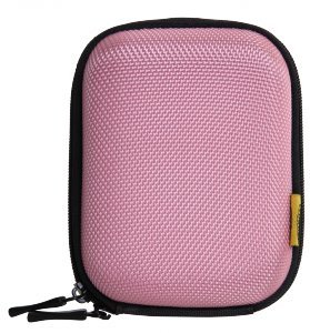 Bilora Shell Bag IV für Kompaktkamera pink