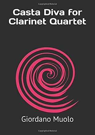 Casta Diva for Clarinet Quartet