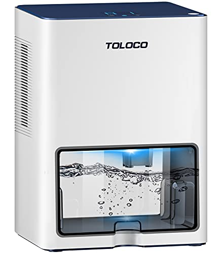 Dehumidifier with 135 OZ Water Tank for 510 sq ft Medium Space Dehumidifiers for Home and Basements with Auto-off, Timer Setting
