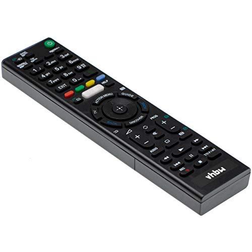 vhbw Fernbedienung passend für Sony KD-75X8505C, KDL-43W755C, KDL-43W756C, KDL-43W805C, KDL-50W755C Fernseher, TV - Ersatzfernbedienung