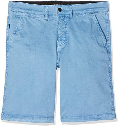 Chiemsee Herren Chinoshorts, einfarbig Bekleidung/Hose Shorts, 631 Parisian Blue, 33