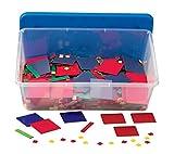 hand2mind Plastic Algebra Tiles Classroom Kit, Linear Algebra Math Manipulatives, Pre Algebra Math Tools, Montessori Materials for Algebra, Algebra Teacher Supplies, Homeschool Supplies (30 Sets)