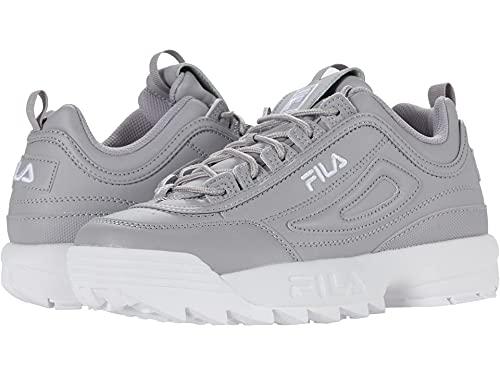 Fila Disruptor II Premium Silver Sconce/White/White 9 B (M)