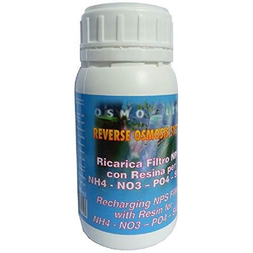 Aquili Removal A Ricarica 500 ml x Cartuccia Resina NO3 PO4 SiO2 impianto osmosi Acquario