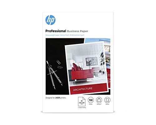 HP Professional Business Photo Paper, 7MV83A, 150 hojas de papel fotográfico brillante avanzado, compatible con impresoras...