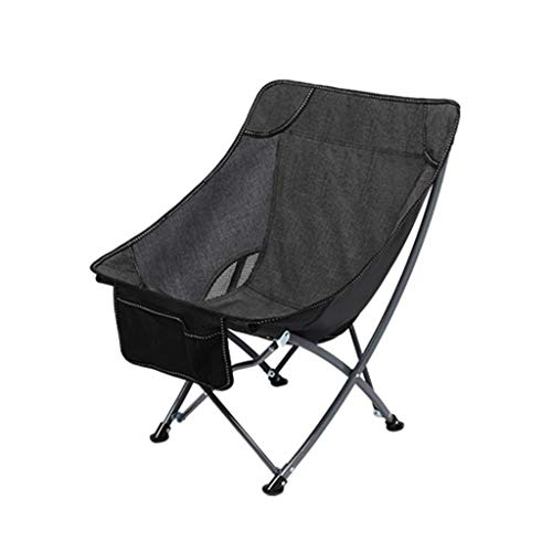 RVC Camping Folding Chair With Carry Bag Heavy Duty Steel Frame Collapsible Lawn Chair Portable For Outdoor Hiking Beach Compact Size