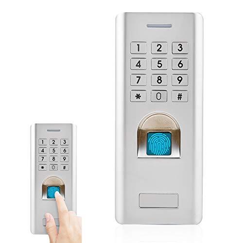 Fingerabdruck Türschloss, Tür-Zugriffskontrolltastatur-Sicherheitseingabe verwendet in den Häusern, in den Büros, in den Häusern (1000 Fingerabdruck + 2000 PIN)