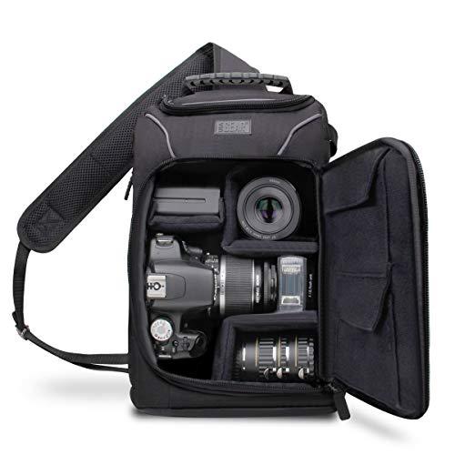 Accessory Power USA GEAR S Series S15 - Mochila Cámara Reflex, Funda Bolsa Protectora para Cámaras DSLR como Nikon, Canon y para Accesorios, Cargadores, Tarjetas de Memoria