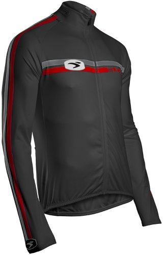 Sugoi Trikot - Camiseta de Ciclismo para Hombre, tamaño XL, Color Negro