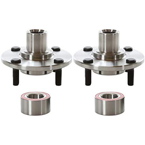 AutoShack HB618512PR Pair of 2 Wheel Bearing Hub Front Driver and Passenger Side...