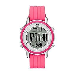 top 10 atmos dtsx 9 2 receivers Skechers Women Westport Digital Watch Made of Quartz Metal and Silicone Color: Neon Pink, 18 (Model:…