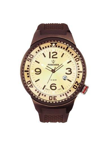 Kienzle Unisex-Armbanduhr POSEIDON S Analog Quarz Silikon K2103069113-00422