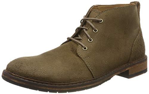 Clarks Herren Clarkdale Base Klassische Stiefel, Braun (Taupe Suede), 43 EU