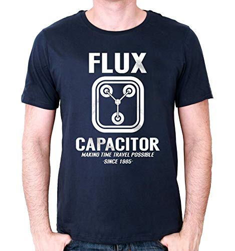 cotton division Tshirt Retour vers Le Futur - Flux Capacitor
