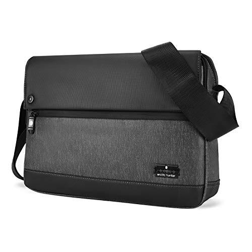 Borsa a Tracolla 11 pollici Tablet PC Messenger Bag Uomo Borse a Spalla Borsa Zainetto Briefcase Multifunzione