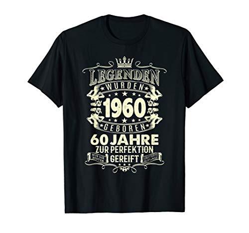 60. Geburtstag Geschenk Lustig 1960 Mann Frau 60 Jahre Party T-Shirt