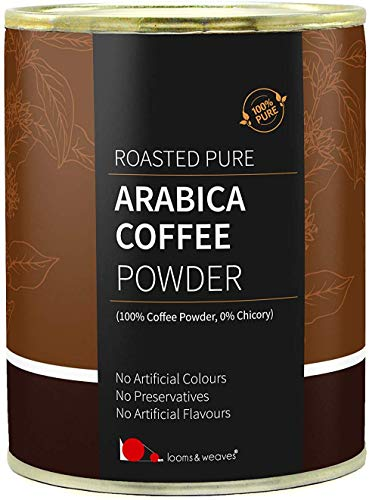 Glamorous Hub looms & weaves 100% Premium Arabica Ground Coffee Powder 100 gm
