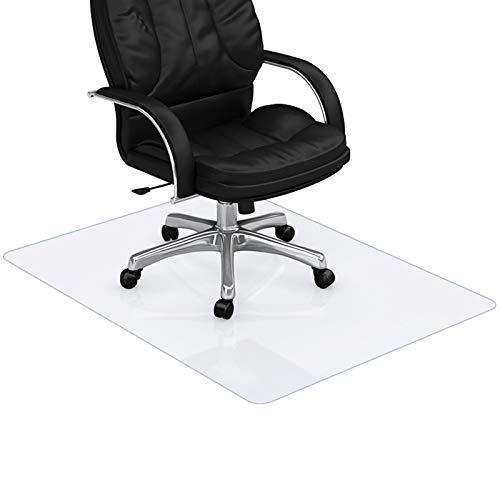 ECO Bodenschutzmatte, Bodenschutzmatte T-förmige Transparente rutschfeste PVC-Stuhlmatte für Hartböden Bürostuhlunterlage Fliesen Bodenschutz Bürostuhl Stuhlmatte