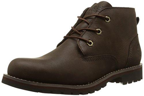Timberland Herren Larchmont Waterproof Chukka Boots, Braun (Dark Brown), 46 EU