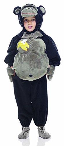 Rubie 's IT30630–Kostüm Morbidosi: Gorilla, Kind, Größe T (2-3 jahre , 98 cm)