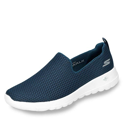 Skechers Damen Go Walk Joy Sneaker, Black Weiß, 37 EU