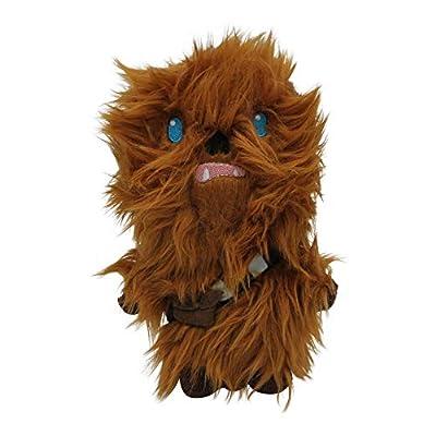 Star Wars Plush Chewbacca Figure Dog Toy | Soft Star Wars Squeaky Dog Toy | Medium