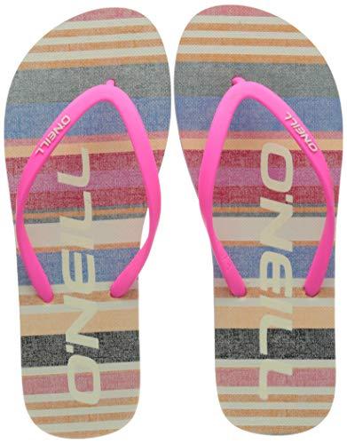 ONeill dam profil grafiska sandaler flip-flop, GUL - 39 EU