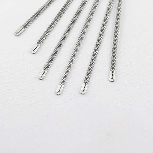 kawenSTOFFE Miederstäbchen - Korsagenstäbchen - Metall - 12 cm lang - 4 mm breit