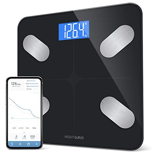 Our #3 Pick is the GreaterGoods Bluetooth Digital Body Fat Weight Scale