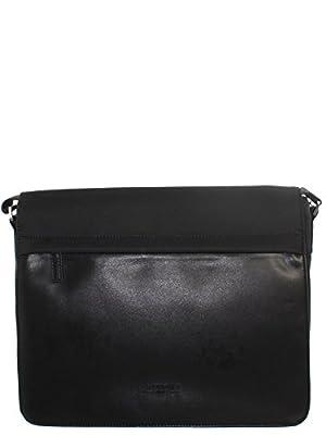 Chabrand - Besace en nylon et cuir ref_cha25615-noir