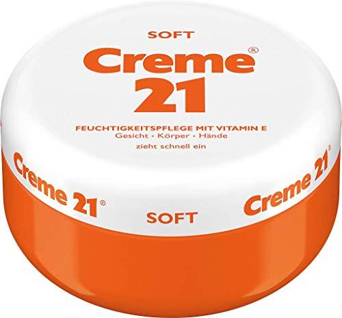 Creme 21 SOFT - Body-Face-Hand Cream with vitamin E 250 ml/Germany