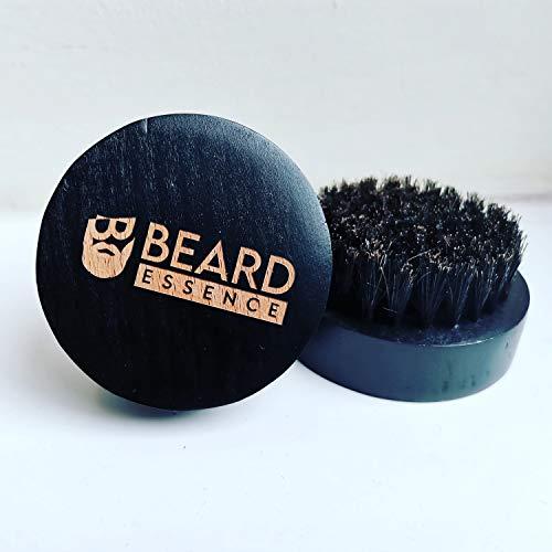 Wooden Beard Brush Boar Bristles Round Shape For Men