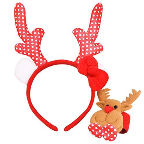 Fancylande kostuums voor kerstschmink, accessoire voor kostuums uit twee delen, haarband + appelcirkel voor kinderen