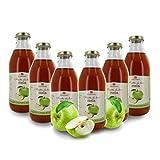 Zumo de Manzana Ecológico - Sin Azúcares Añadidos - 6 Botellas de 750ml