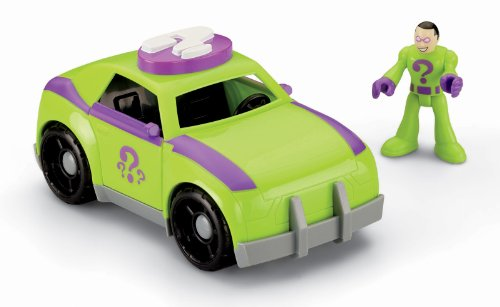 Fisher-Price Imaginext DC Super Friends, The Riddler & Car