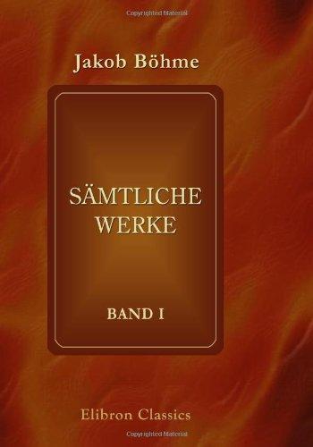 Sämtliche Werke: Band 1. Der Weg zu Christo