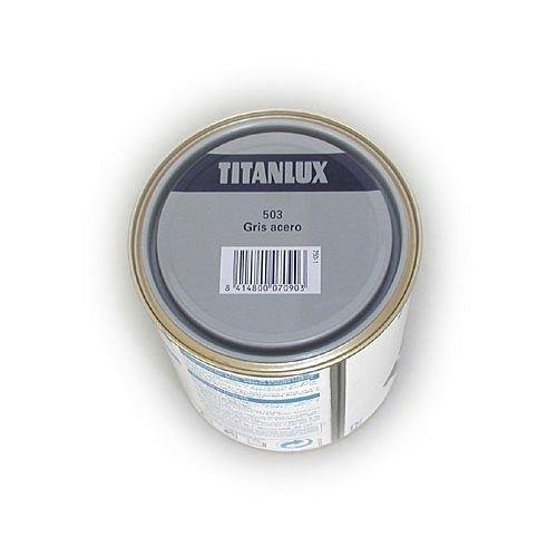 Titanlux M30743 - Esmalte sintetico 750 ml titanlux gris acero